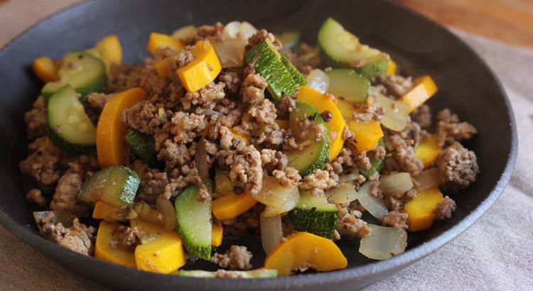 7月レシピ:店主の夕食レシピ「麻婆ズッキーニ」