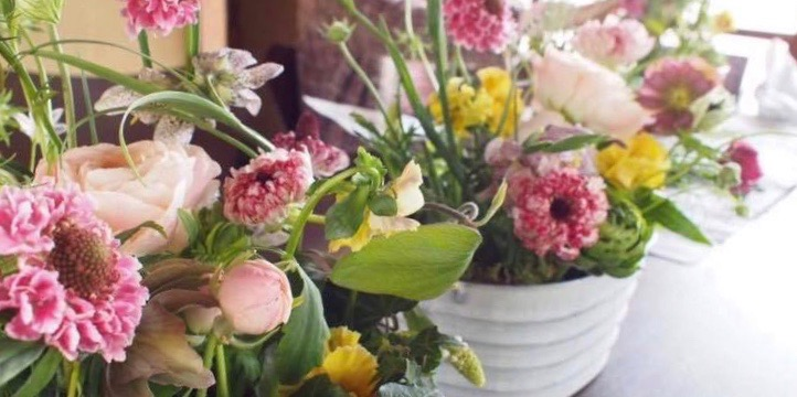 【10/4,10/5】WiLLDランチ付フラワーワークショップ『テーブルガーデン』